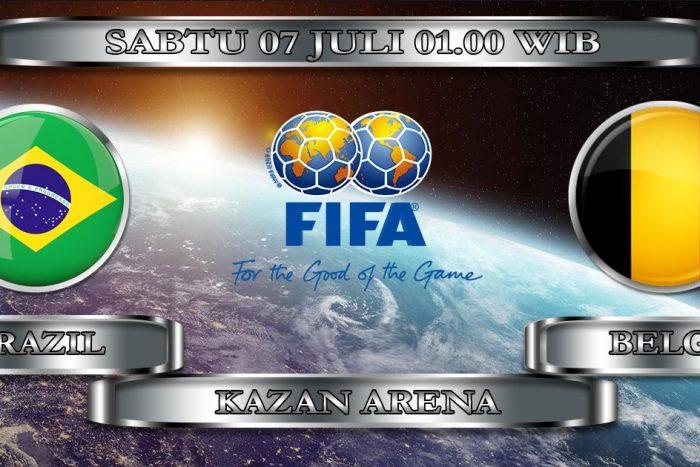 Brasil vs Belgia di Perempatfinal, Asyik nih!