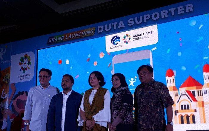 Gaungkan Asian Games 2018, Kominfo Luncurkan Aplikasi untuk Suporter