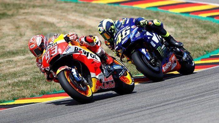 Sepanjang Valentino Rossi di Belakangnya, Marc Marquez Tak Risau Jika Tidak Juara