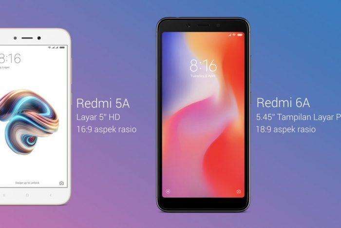 Xiaomi Indonesia Luncurkan Redmi 6A, Segini Harga dan Keunggulannya