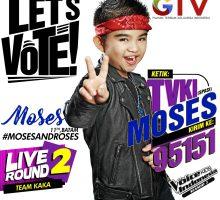 Yuk Dukung Moses Bradley, anak Batam perwakilan KEPRI yang ikut ajang The Voice Kids Indonesia !
