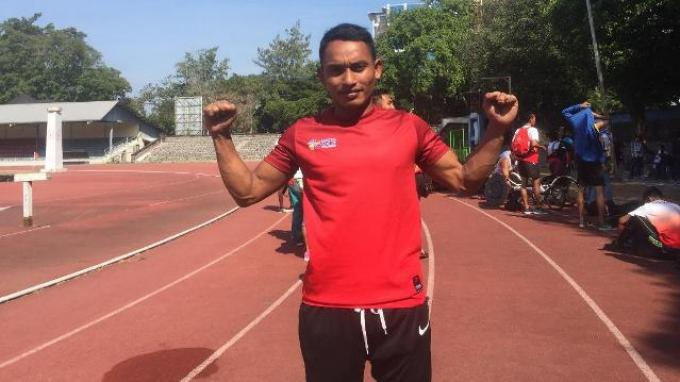 Atlet Indonesia Pemegang Rekor di Asia Tenggara Ini Patok Emas di Asian Para Games 2018