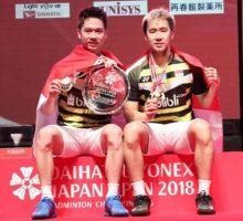 China Open 2018 – Marcus/Kevin Melaju ke Babak Kedua Usai Menangi Perang Saudara