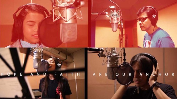 Gak Kalah Dari Via Vallen, Suara Merdu Penyanyi Tunanetra Isi Theme Song Asian Para Games
