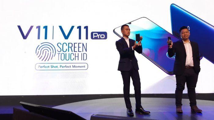 Teknologi Screen Touch ID di Vivo V11 Pro Tetap Efektif Bekerja Meski Layarnya Pakai Tempered Glass