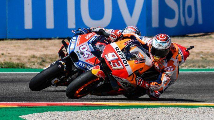 Andrea Dovizioso Akui Sulit Jadi Juara Dunia Tahun Sekalipun Marc Marquez Tak Ikut Balapan Lagi