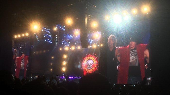 Guns N Roses Pamit, Paradise City' Jadi Penutup Konsernya di Jakarta