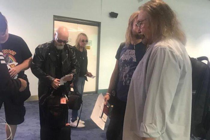 Judas Priest Terkesan Saat Tiba di Indonesia