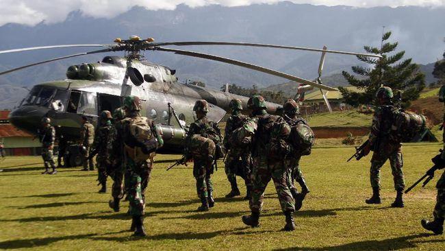 Evakuasi Korban di Nduga, Aparat Kontak Senjata dengan KKB