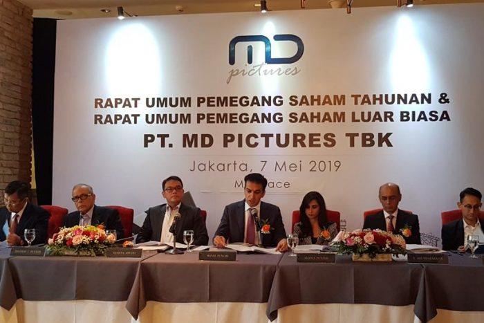 MD Pictures Mengadakan Rapat Umum Pemegang Saham Tahunan dan Luar Biasa